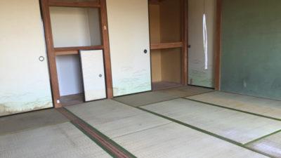 一軒屋及び倉庫内の片付け作業が完了しました。
